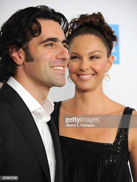 NASCAR driver Dario Franchitti and actress Ashley Judd arrive at the USA Today's 4th Annual Hollywood Hero Award Gala honoring Ashley Judd on...