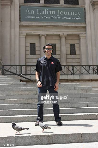 Driver Dario Franchitti attends Indianapolis 500 Winner Dario Franchitti's victory lap on June 7 2010 in New York City