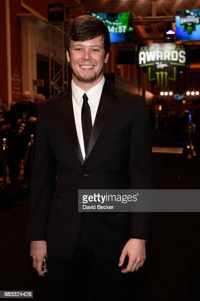 NASCAR driver Erik Jones attends the Monster Energy NASCAR Cup Series awards at Wynn Las Vegas on November 30 2017 in Las Vegas Nevada