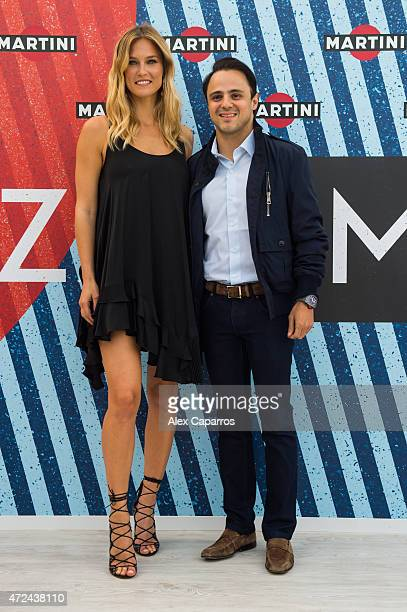 RACING driver Felipe Massa joins model Bar Refaeli as she's announced as the global MARTINI race ambassador The pair kicked off the European Formula...