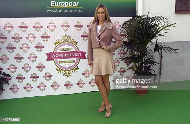 Driver for the Lotus F1 Team, Carmen Jorda, presents #WomenOnTheMove by Europcar on September 30, 2015 in Madrid, Spain.