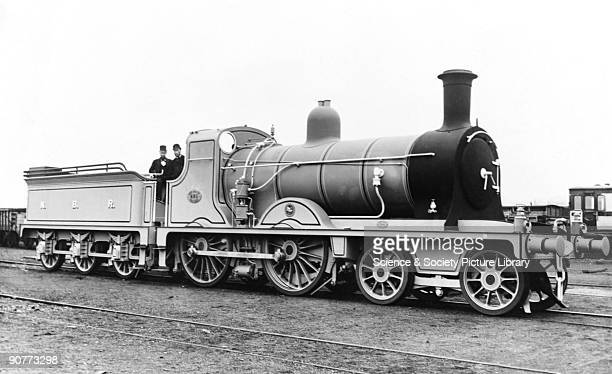 Driver in a D35 class 440 locomotive on the North British Railway The NBR company was formed in 1842 and its first line between Glasgow and Edinburgh...