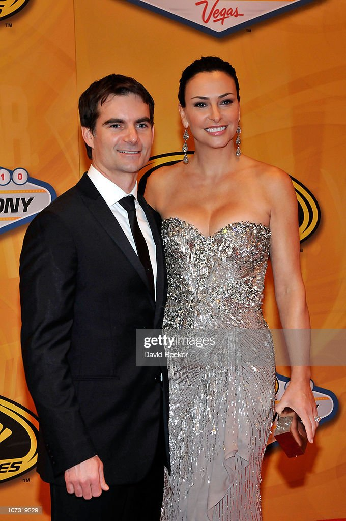 Nascar Driver Jeff Gordon And His Wife Ingrid Vandebosch Attend The News Photo Getty Images