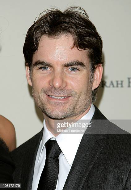 NASCAR driver Jeff Gordon attends the Cipriani Wall Street Concert Series featuring Lenny Kravitz at Cipriani Wall Street on October 30 2007 in New...