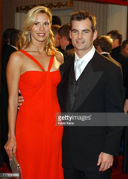NASCAR driver Jeff Gordon with girlfriend Amanda Church