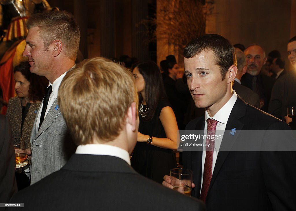 NASCAR driver Kasey Kahne attends 'Speeding For A Cure', a gala to benefit Autism Speaks held at the Metropolitan Museum of Art on March 12, 2013 in New York City.
