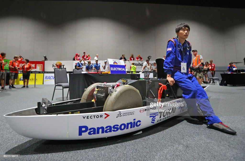 Driver Kosuke Kika looks on as Tokai Challenger, the car from Japans Tokai University is tested during Static Scrutineering before competing in the Challenger class ahead of the 2017 Bridgestone World Solar Challenge on October 4, 2017 in Darwin, Australia. Teams from across the globe are competing in the 2017 World Solar Challenge - a 3000 km solar-powered vehicle race through the Australian Outback between Darwin and Adelaide. The race attracts teams from around the world, most of which are fielded by universities or corporations although some are fielded by high schools. The race has a 30-year history spanning thirteen races, with the inaugural event taking place in 1987. The race begins on October 8th with the first car expected to cross the finish line on October 11th.