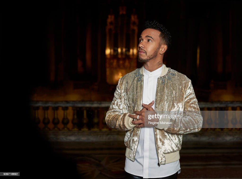 Lewis Hamilton, Paris Match, December, 2017 : News Photo