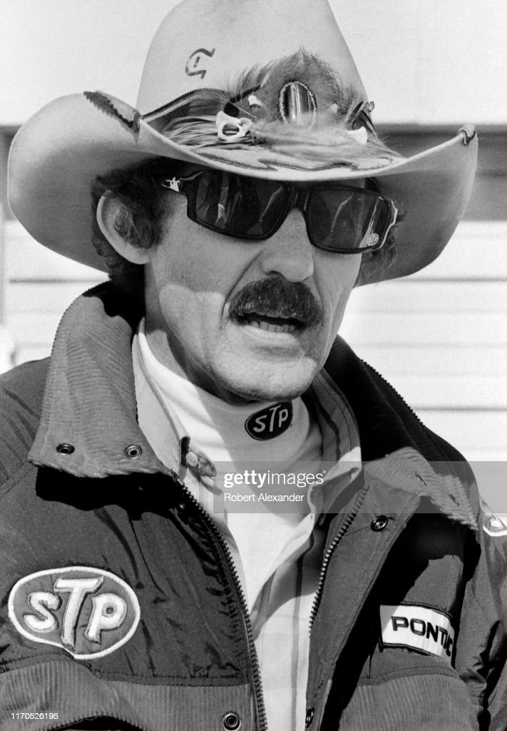 Richard Petty at 1983 Daytona 500 : News Photo