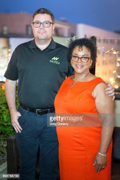 Driver Robert Gaskill and Deena Adair attend the Landing Up World Premiere during 20th Annual Dances With Films at TCL Chinese 6 Theatres on June 7...