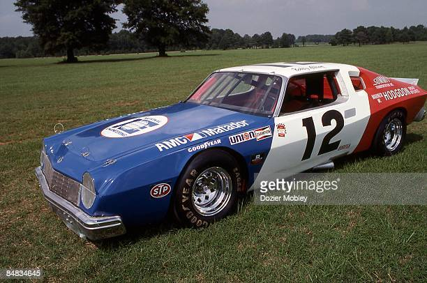 Driver side shot of Bobby Allison's 1974 AMC Matador taken in August 1984 from the collection of the International Motorsports Hall of Fame at the...