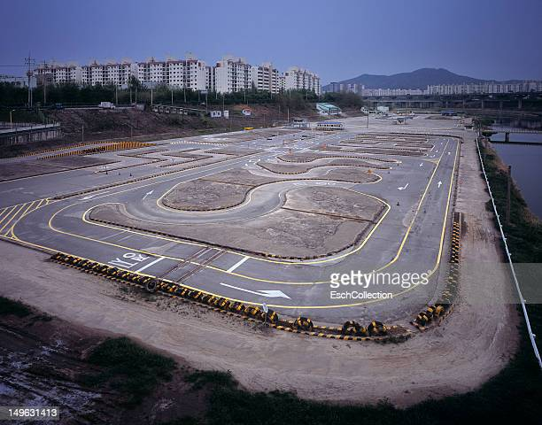 Driver training circuit at Songpa-gu in Seoul