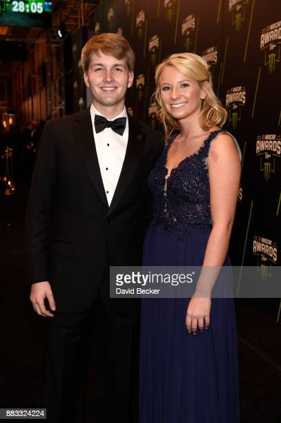 Driver William Byron attends the Monster Energy NASCAR Cup Series awards at Wynn Las Vegas on November 30 2017 in Las Vegas Nevada