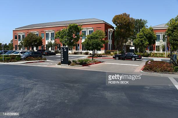 A driver with a town car waits at the entrance to building 10 at the Facebook main campus in Menlo Park California May 15 2012 Facebook the world's...