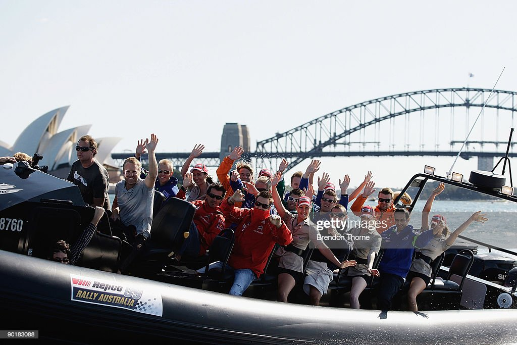 WRC Drivers In Sydney Photos and Images | Getty Images