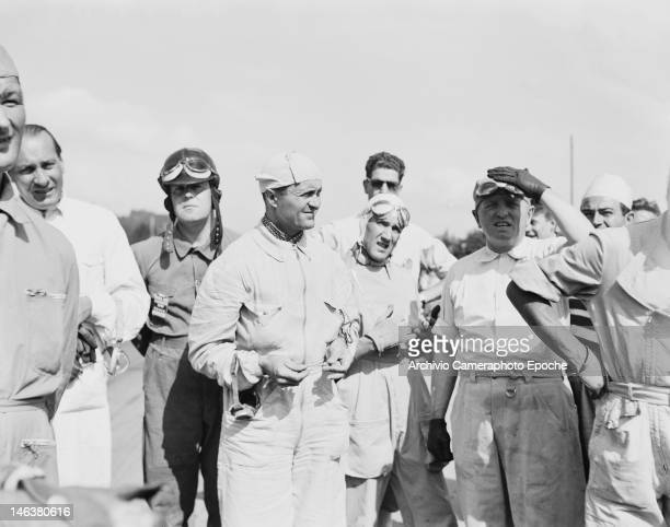 Drivers at the Lausanne Grand Prix in Switzerland 27th August 1949
