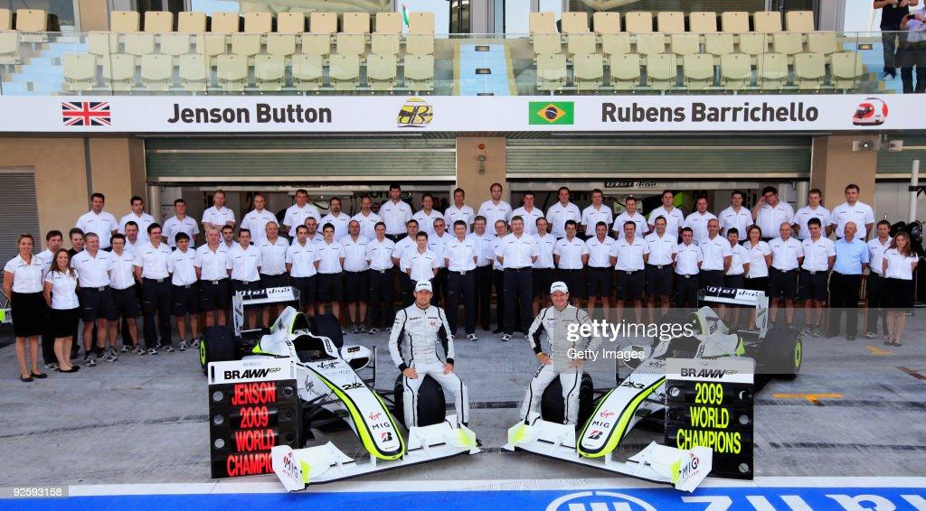 F1 Grand Prix of Abu Dhabi - Race : News Photo