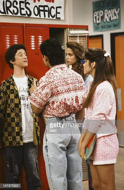 BELL Driver's Education Episode 4 Air Date Pictured Dustin Diamond as Screech Powers Mario Lopez as AC Slater Elizabeth Berkley as Jessie Spano...