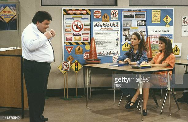 BELL Driver's Education Episode 4 Air Date Pictured Jack Angeles as Mr Tuttle Elizabeth Berkley as Jessie Spano Tiffani Thiessen as Kelly Kapowski...