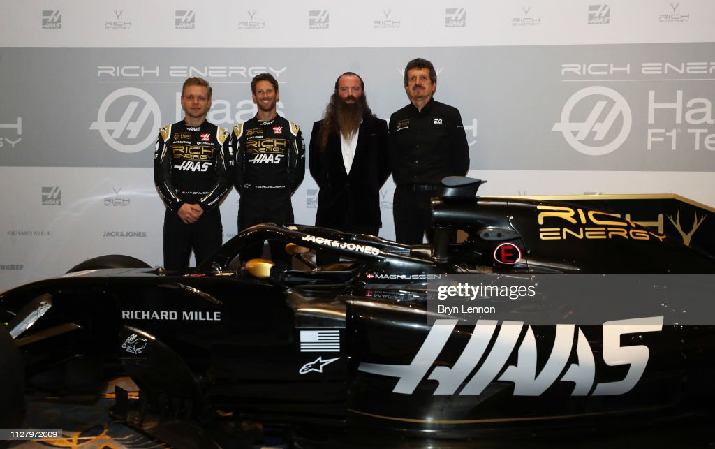 Rich Energy Haas F1 Team Livery Unveil : News Photo