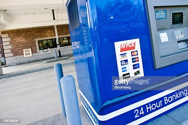 A drivethru ATM stands at a former Premier Bank branch in Jefferson City Missouri US on Wednesday Oct 27 2010 The Federal Deposit Insurance Corp has...