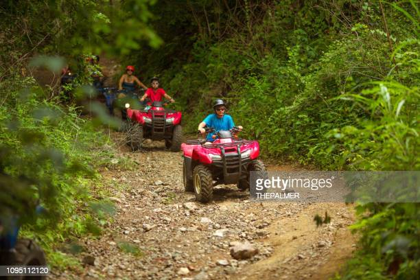 driving 4x4 in costa rica - jeep stock pictures, royalty-free photos & images