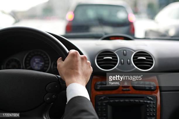 Fahren ein Auto