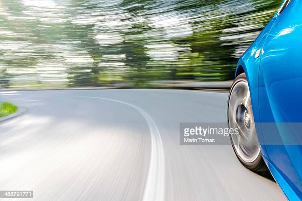 driving a car - dividing line road marking stock photos and pictures