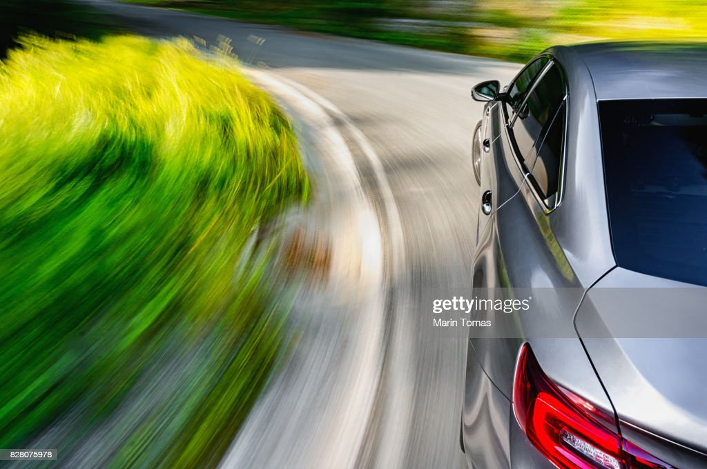 Driving a car : Stock Photo