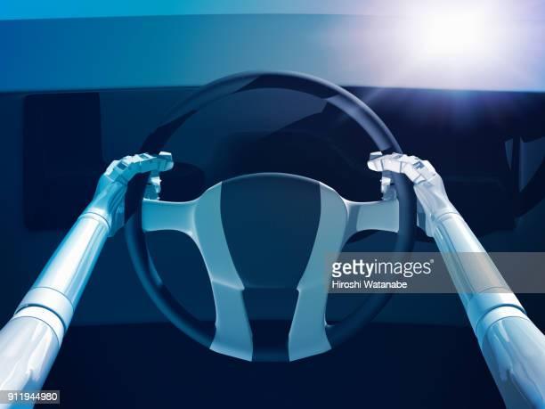 A.I.  driving a car