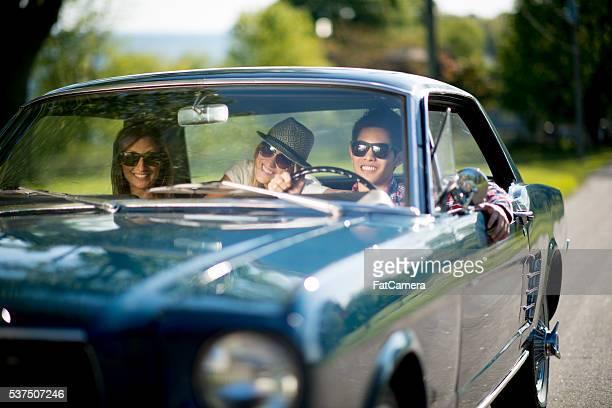 Driving a Classic Car