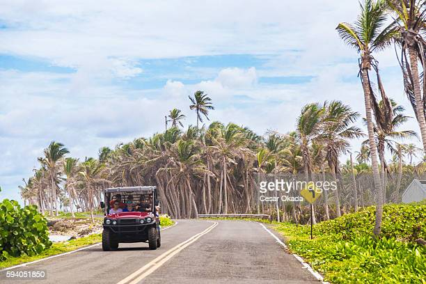 Driving at San Andres island