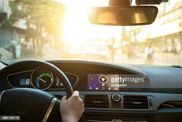 driving car - steering wheel stock pictures, royalty-free photos & images