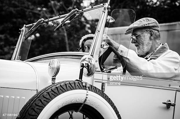 driving ford model a roadster replica - 1920 1929 stock pictures, royalty-free photos & images
