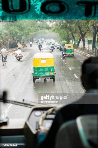 Rijden in Delhi, India