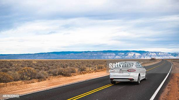 driving in desert. - ford motor company stock pictures, royalty-free photos & images