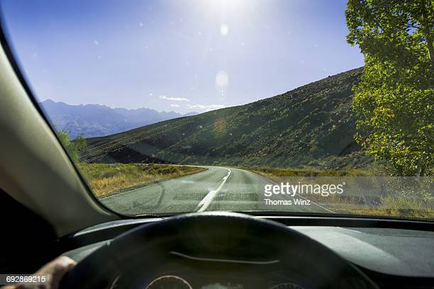 Driving in Owens Valley