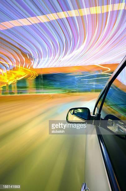 Conduire dans la rue