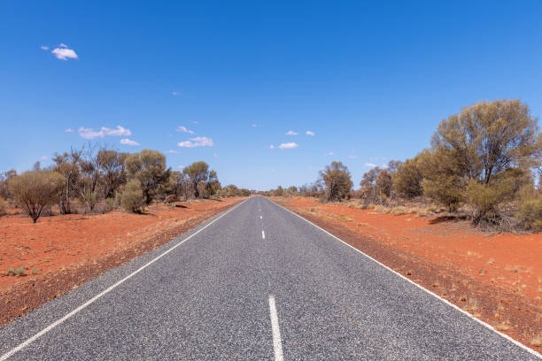 Driving In The Australian Outback