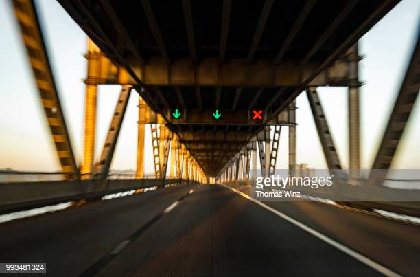 driving on bridge - rules stock pictures, royalty-free photos & images