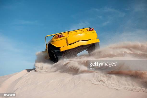 Driving on Sand, Jericoacoara, Brazil