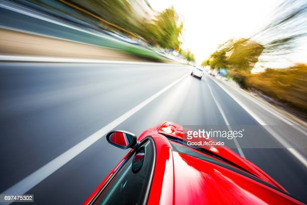 Rouler sur l'autoroute
