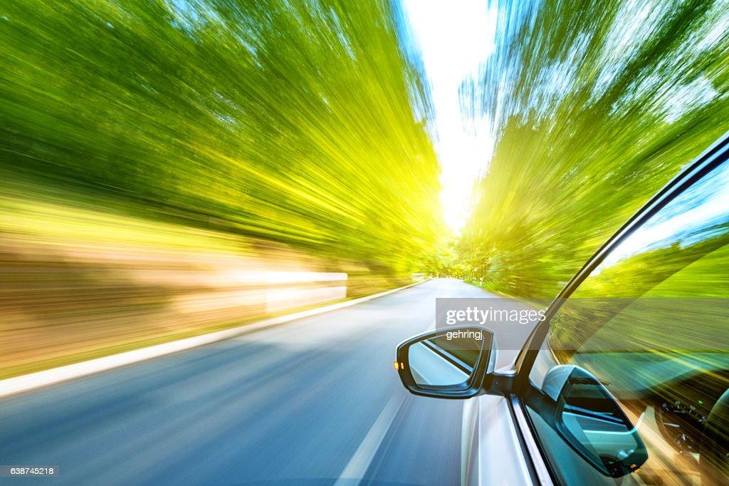 旅先での運転 : ストックフォト