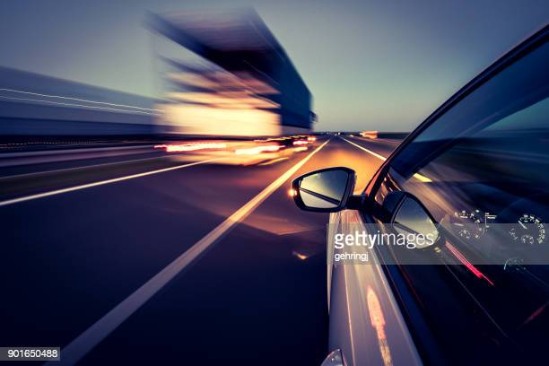 driving on the road - transportation stock pictures, royalty-free photos & images