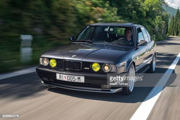 BMW M5 Driving