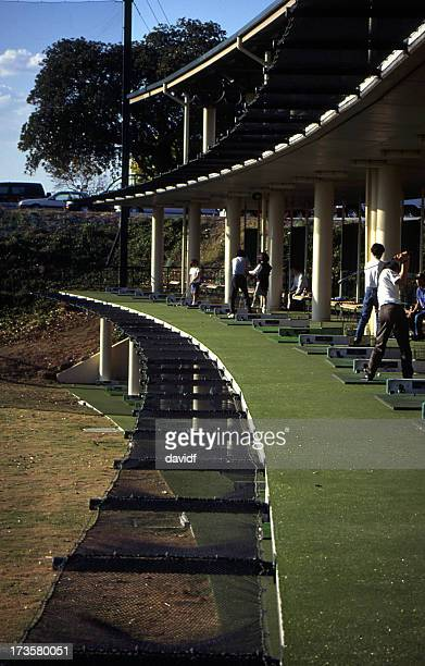driving range - driving range stock pictures, royalty-free photos & images