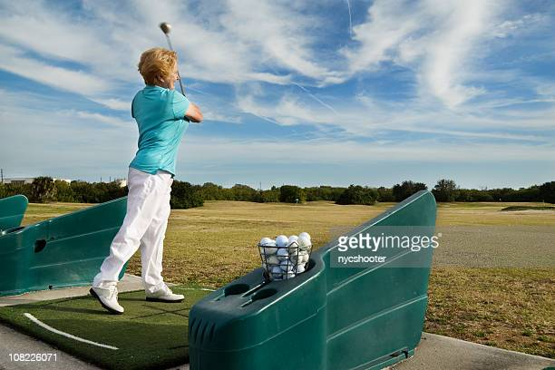 driving range practice. - driving range stock pictures, royalty-free photos & images