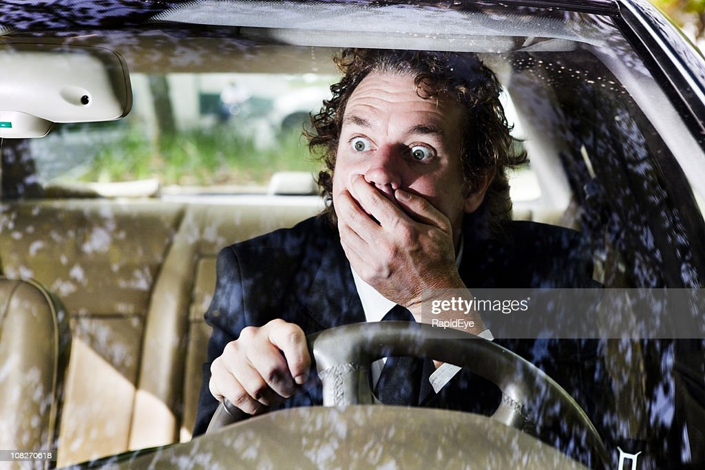 Driving shock : Stock Photo