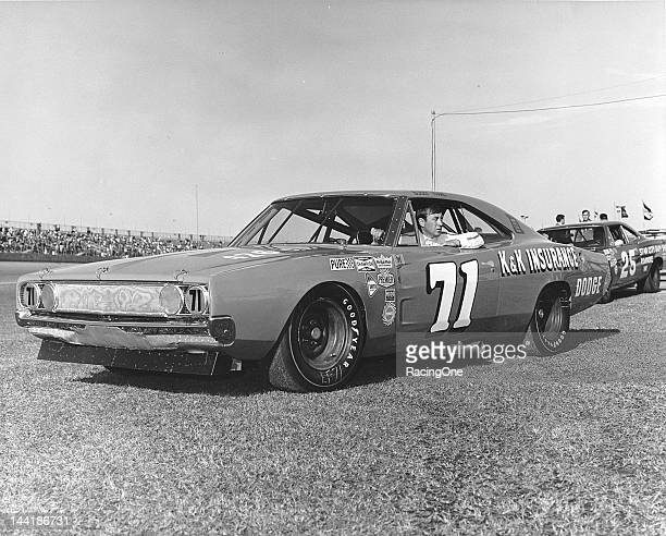 Driving the KK Insurance Dodge of Nord Krauskopf with Harry Hyde as crew chief Bobby Isaac took a 36th place finish in the Daytona 500 NASCAR Cup...