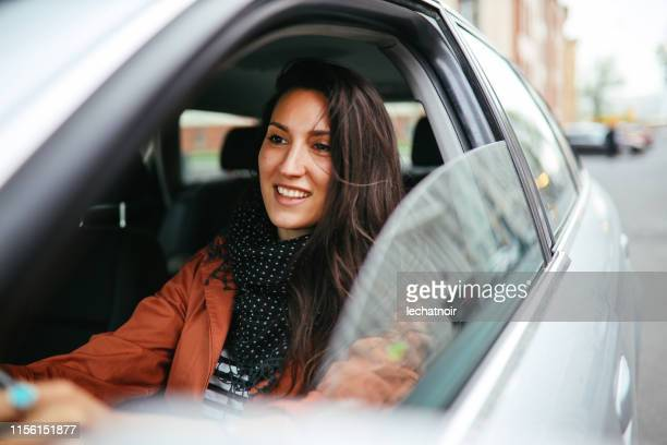 driving through berlin - driver stock pictures, royalty-free photos & images